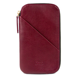 Alto Travel Wallet Leather Case iPhone X/Xs - Chianti