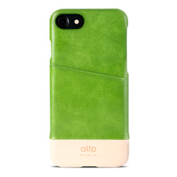 Alto Metro Leather Case iPhone 8/7 - Lime/Original
