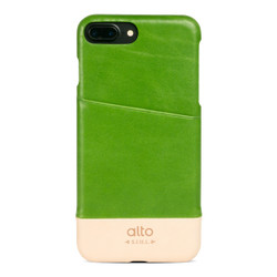 Alto Metro Leather Case iPhone 8+/7+ Plus - Lime/Original