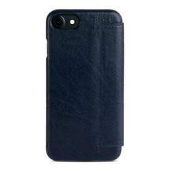 Alto Foglia Leather Case iPhone 8/7 - Navy