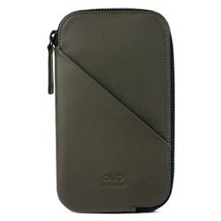 Alto Travel Wallet Leather Case iPhone X - Carbon