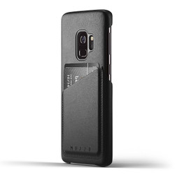 Mujjo Full Leather Wallet Case Samsung Galaxy S9 - Black