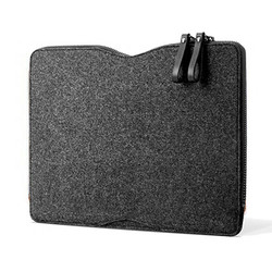"Mujjo Folio Sleeve Case Macbook Pro 13"" - Black"