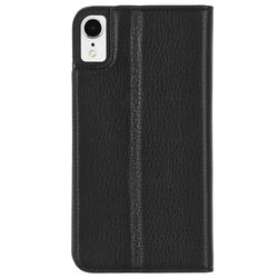 Case-Mate Wallet Folio Case iPhone XR - Black