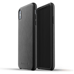 Mujjo Full Leather Case iPhone Xs Max - Black