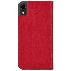 Case-Mate Barely There Folio Case iPhone XR - Cardinal