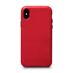 SENA Kyla LeatherSkin Case iPhone Xs Max - Red