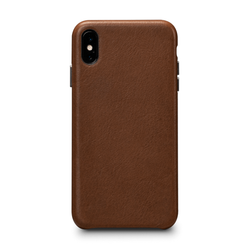 SENA Deen LeatherSkin Case iPhone Xs Max - Tan