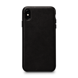 SENA Deen LeatherSkin Case iPhone Xs Max - Black