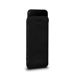 SENA Ultraslim Classic Leather Sleeve Pouch iPhone XR - Black