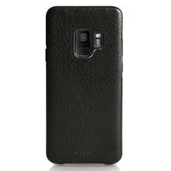 Vaja Grip Leather Case Samsung Galaxy S9 - Grain Black