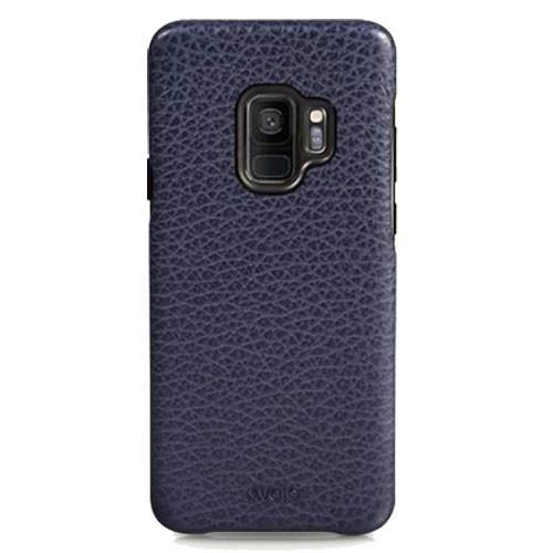 Vaja Grip Leather Case Samsung Galaxy S9 - Crown Blue