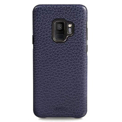 Vaja Grip Leather Case Samsung Galaxy S9 - Crown Blue