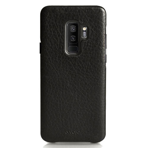 Vaja Grip Leather Case Samsung Galaxy S9+ Plus - Grain Black