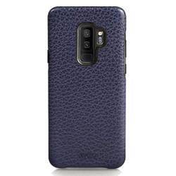Vaja Grip Leather Case Samsung Galaxy S9+ Plus - Crown Blue