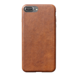 Nomad Horween Leather Case iPhone 8+/7+ Plus - Rustic Brown