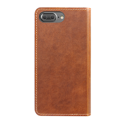 Nomad Horween Leather Folio Wallet iPhone 8+/7+ Plus - Rustic Brown