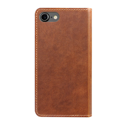 Nomad Horween Leather Folio Wallet iPhone 8/7 - Rustic Brown