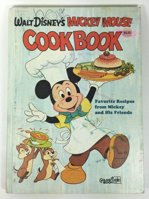 Walt Disney's Mickey Mouse Cookbook 1975