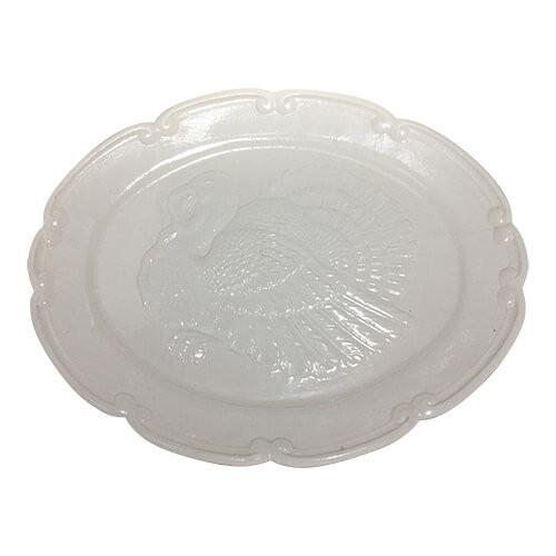 Vintage White Large Turkey Platter by Northington