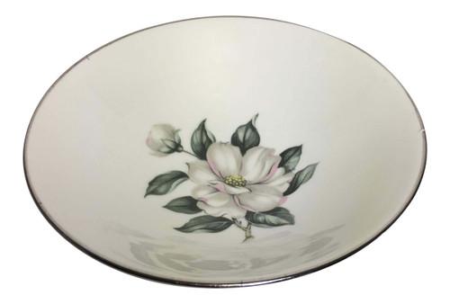 Vintage Homer Laughlin White Magnolia Rhythm Fruit Bowls