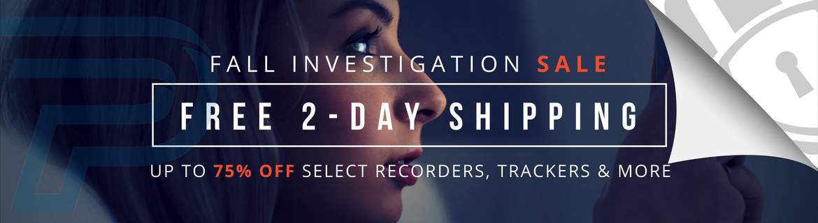Free 2-Day Shipping on Investigative and Security Gear