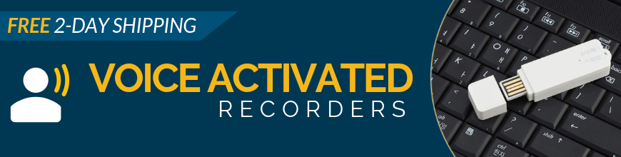 Voice Activated Recorders