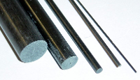 CARBON FIBRE ROD 1mm