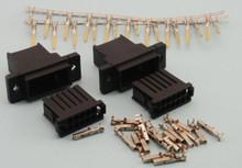 Pair 10 Pin Wing Connector Plug & Socket