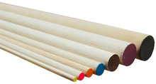 DOWEL BALSA 6.5x900mm RED (6 pieces)