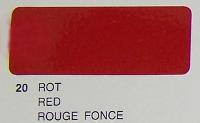 (21-020-002) PROFLIM DARK RED 2 MTR