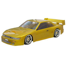 Body Nissan Silvia 195mm ( Body comes clear)