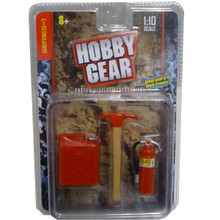 Gas Can Extinguisher & Amp Axe HG 1/10