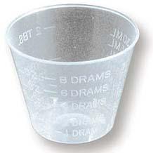 MIXING CUPS,1/4-1 OZ,24 PCS