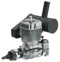 OS GT-22 GASOLINE ENGINE W/E-5040 SILENCER