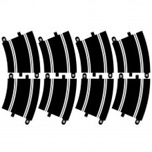 SCALEX TRACK EXTENSION PACK 6 - 8 X R3 CURVES