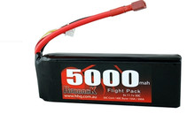 BATTERY, 11.1V LIPO, 5000MAH 30C, FLIGHT