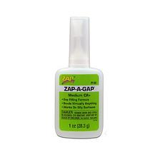 ADHESIVE,ZAP-A-GAP CA+ 1oz (GREEN)