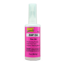 ZAP CA (Pink Label) Thin Viscosity 2 oz. Zap CA
