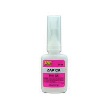 ZAP CA (Pink Label) Thin Viscosity 1/2 oz. Zap CA