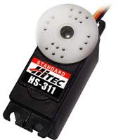 HITEC HS-311 ECONOMICAL STANDARD. HIGH IMPACT GEAR. NEW I/C