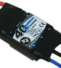 Dualsky ESC 40A V2, 20V for Airplane