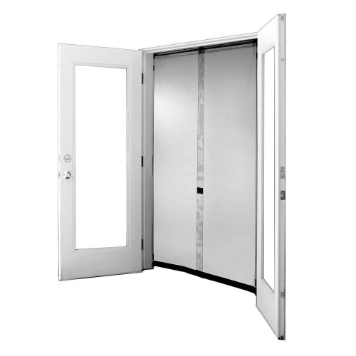 Bug Off Screen Center Opening for French Doors and Sliding Doors