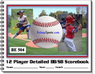 Belnap Sports - Baseball/Softball Detailed Scorebooks