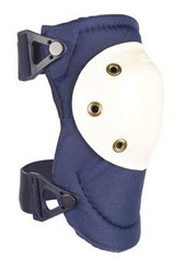 AltaPRO Navy AltaLOK™ Knee Pads (hard white plastic)