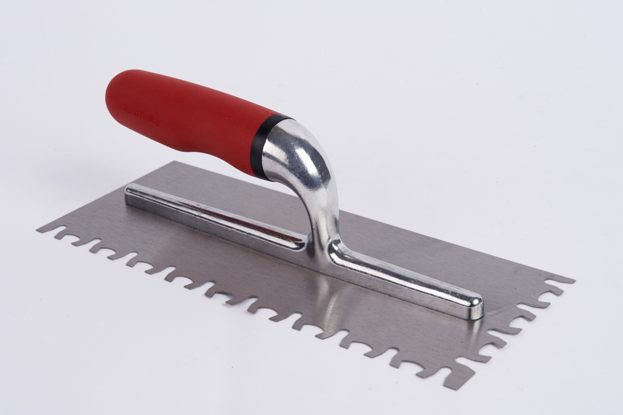 Euro Notch Trowel 11 Inch Tile Tools Hq