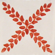Arbor TC Handcrafted Talavera Tile (4x4)