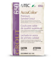 TEC AccuColor  Premium Sanded Grout - 25 lbs