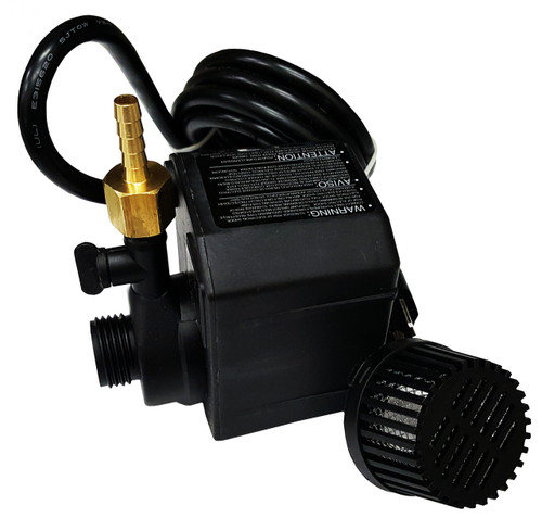 Beckett GRA Wet Saw Pump Volt WBrass Hose Barb Tile Tools HQ - Dewalt wet saw pump