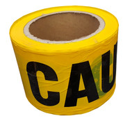 Yellow Caution Tape 300 ft roll - FREE SHIPPING